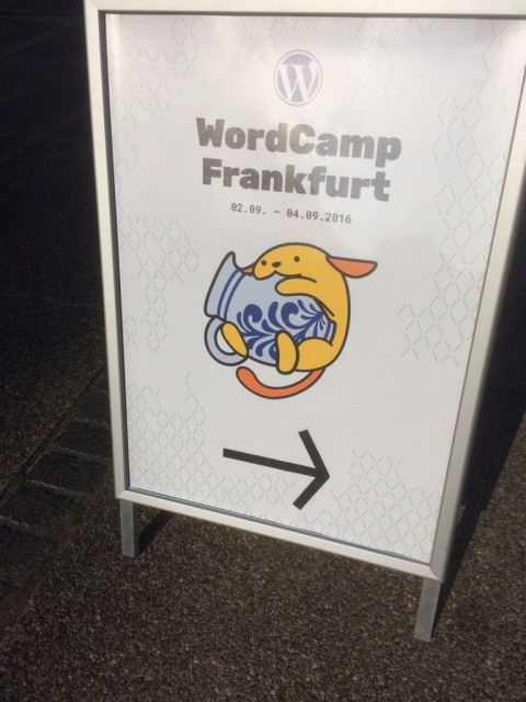 Leo's presentation in WordCamp Frankfurt 2016